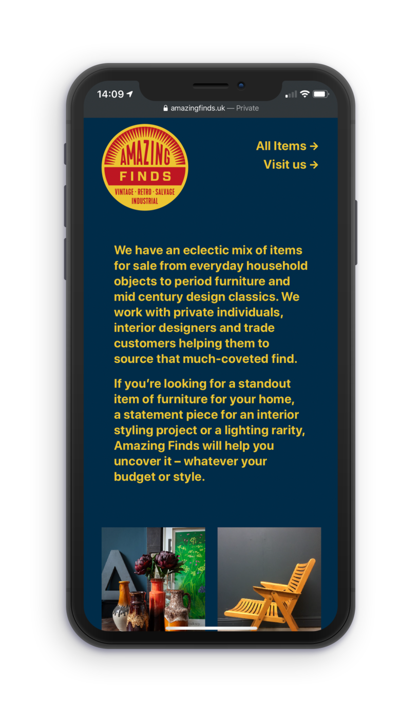 AF home page text