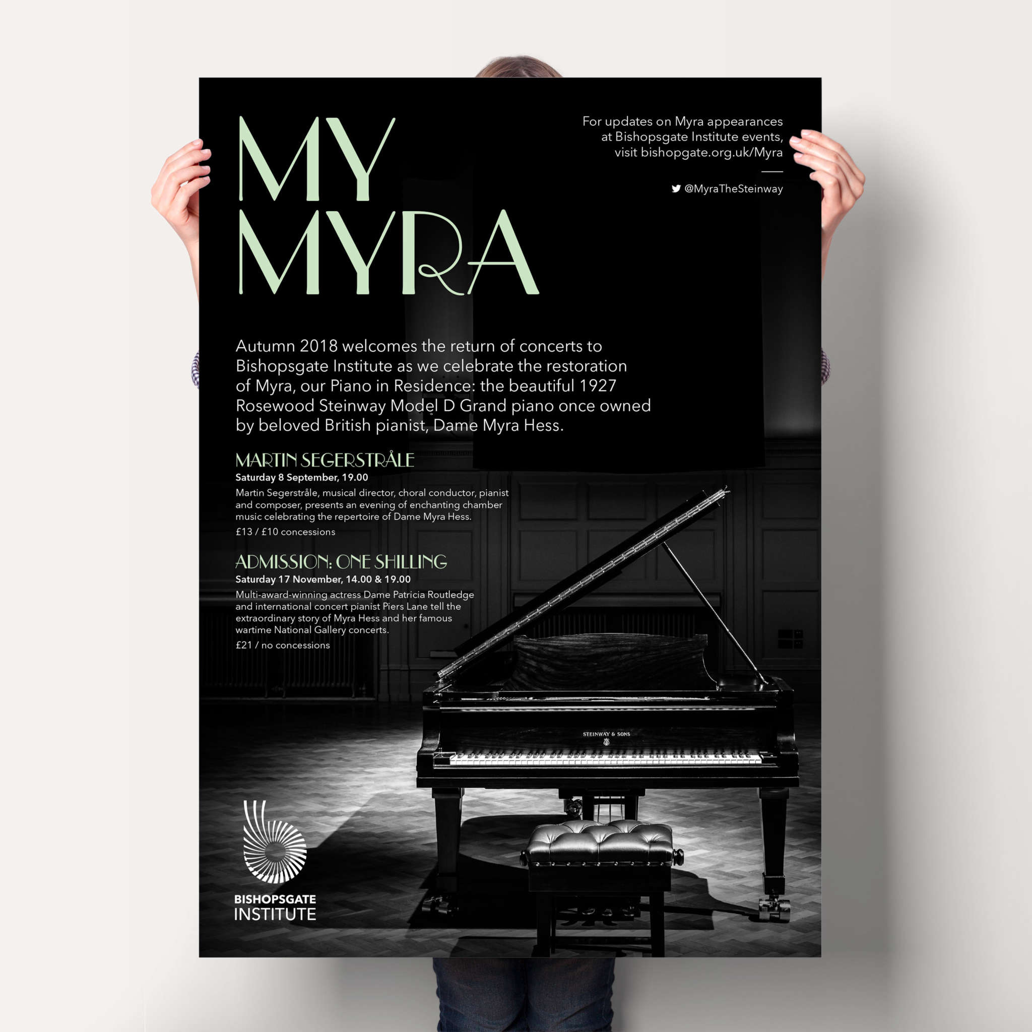 My Myra Poster Mock